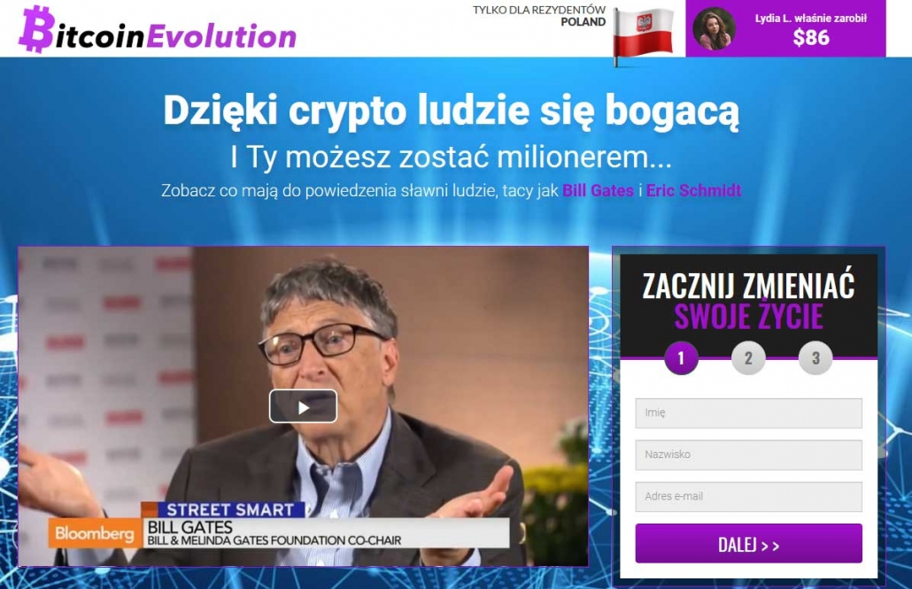 Bitcoin Evolution opinie