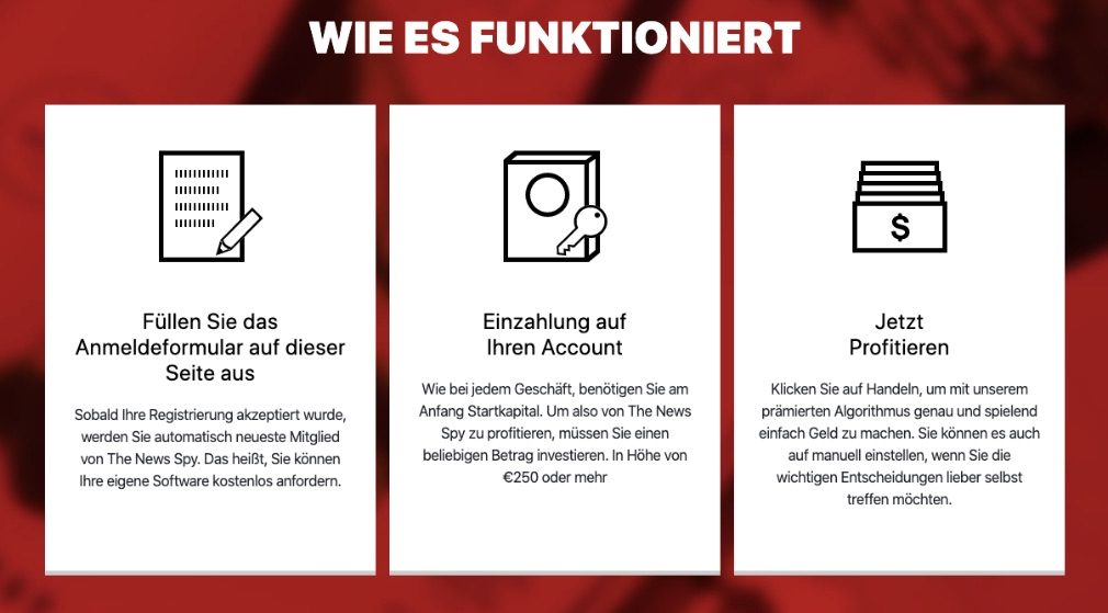 The News Spy Wie funktioniert es