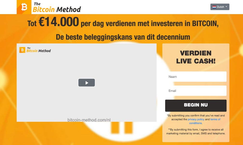 Bitcoin Method ervaringen